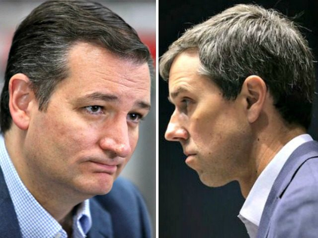 Race between Cruz and O'Rourke 'too close to call,' poll shows