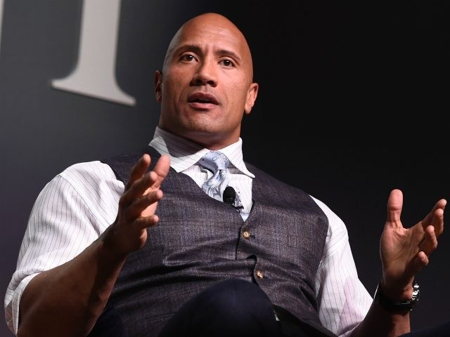 Actor Dwayne 'The Rock' Johnson speaks onstage during 'The Next Intersection For Hollywood with William Morris Endeavor's Ari Emanuel, Patrick Whitesell and Dwayne 'The Rock' Johnson' at the Fast Company Innovation Festival on November 9, 2015 in New York City. (Photo by Ilya S. Savenok/Getty Images for Fast Company)