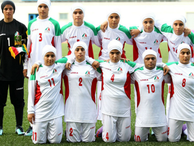 Eight Members of Iran's 'Women's' Soccer Team Are Men Awaiting Sex