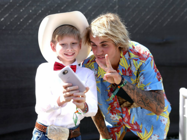 Walmart Yodeling Kid Rocks Out with Celebrities at Coachella