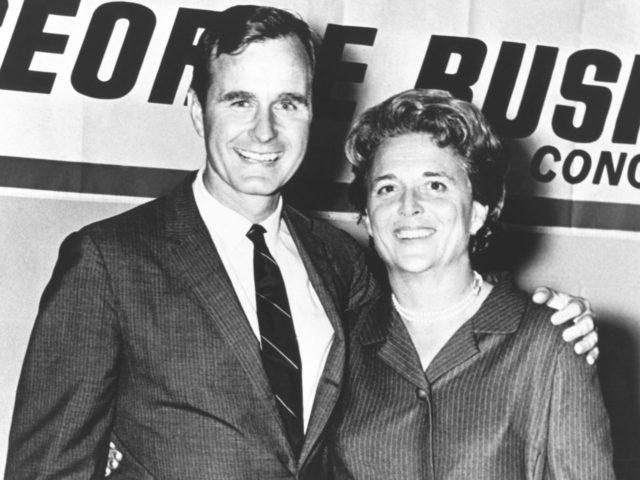 George H.W. Bush and Barbara Bush (AFP / Getty)