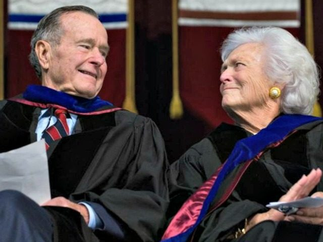 George+and+Barbara+Bush