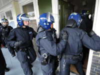 London police raid