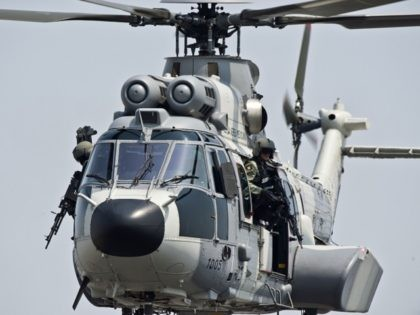 Mexican Navy Helicopter - Getty Images