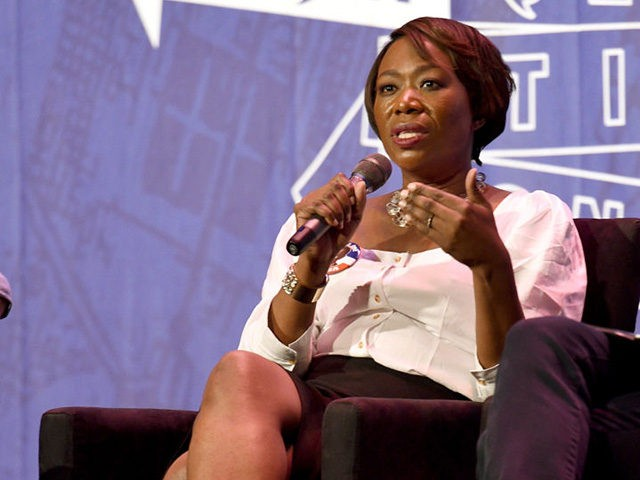 Joy Ann-Reid at the 'Pod Save America' panel during Politicon at Pasadena Convention Center on July 29, 2017 in Pasadena, California. (Photo by Joshua Blanchard/Getty Images for Politicon)