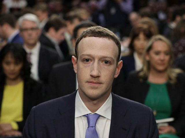 WASHINGTON, DC - APRIL 10: Facebook co-founder, Chairman and CEO Mark Zuckerberg arrives to testify before a combined Senate Judiciary and Commerce committee hearing in the Hart Senate Office Building on Capitol Hill April 10, 2018 in Washington, DC. Zuckerberg, 33, was called to testify after it was reported that ...