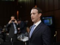 Facebook co-founder, Chairman and CEO Mark Zuckerberg returns to the witness table after taking a brief break while testifying before a combined Senate Judiciary and Commerce committee hearing in the Hart Senate Office Building on Capitol Hill April 10, 2018 in Washington, DC. Zuckerberg, 33, was called to testify after it was reported that 87 million Facebook users had their personal information harvested by Cambridge Analytica, a British political consulting firm linked to the Trump campaign. (Photo by Alex Wong/Getty Images)