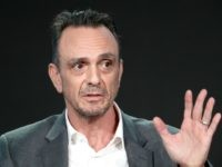 Executive producer/actor Hank Azaria of 'Brockmire ' speaks onstage during the IFC portion of the 2018 Winter Television Critics Association Press Tour at The Langham Huntington, Pasadena on January 12, 2018 in Pasadena, California. (Photo by Frederick M. Brown/Getty Images)