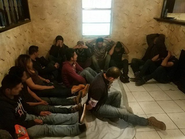 56 Migrants found by Laredo Sector Border Patrol agents in human smuggling stash House. (Photo: U.S. Border Patrol)