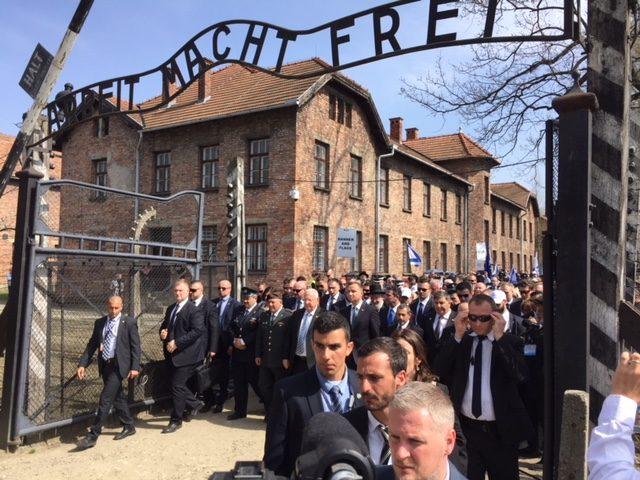 March of the Living (Joel Pollak / Breitbart News)
