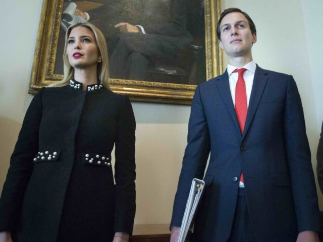 Jared and Ivanka Trump (Michael Reynolds / Pool / Getty)