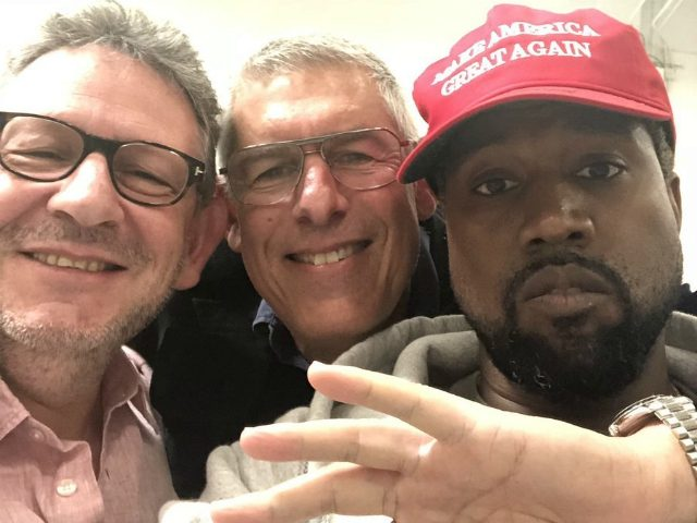 Kanye West Supports Donald Trump with 'Make America Great Again' Hat