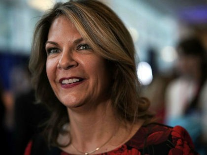 Republican U.S. Senate candidate for Arizona Kelli Ward attends CPAC 2018 February 22, 2018 in National Harbor, Maryland. The American Conservative Union hosted its annual Conservative Political Action Conference to discuss conservative agenda. (Photo by Alex Wong/Getty Images)