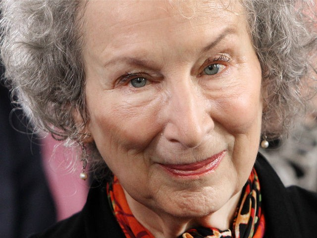 Canadian author Margaret Atwood arrives for the award ceremony of the Peace Prize of the German Book Trade in Frankfurt am Main, western Germany, on October 15, 2017. / AFP PHOTO / Daniel ROLAND (Photo credit should read DANIEL ROLAND/AFP/Getty Images)