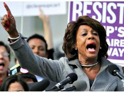 Maxine Waters: Failure to Impeach Trump Will 'Imperil Nation'