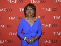 Maxine Waters attends the Time 100 Gala celebrating the 100 most influential people in the world at Frederick P. Rose Hall, Jazz at Lincoln Center on Tuesday, April 24, 2018, in New York. (Photo by Evan Agostini/Invision/AP)