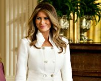 Twitter Flooded with Birthday Wishes for First Lady Melania Trump