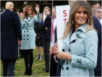 Melania at Easter Egg Roll 2018