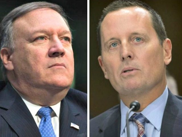 Mike Pompeo and Richard Grenell