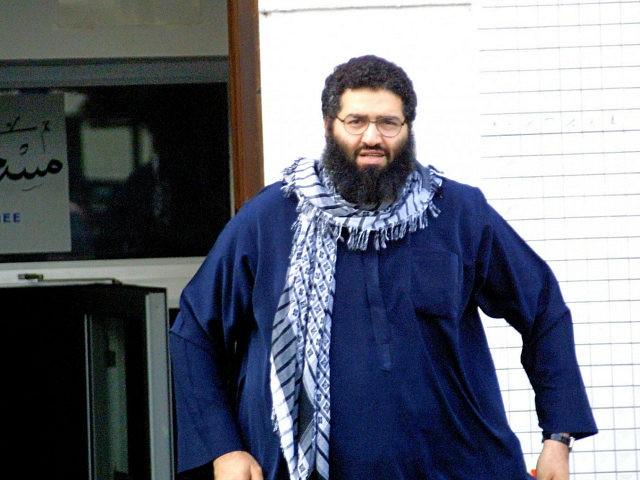 Mohammed Haydar Zammar leaves a mosque in Germany on Oct. 3, 2001. (Knut Mueller/Der Spiegel via AP)