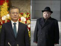 South Korean President Moon Jae-in and North Korean Dictator Kim Jung-Un