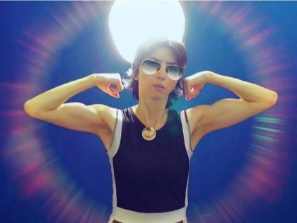 Nasim Aghdam bodybuilder (Facebook)
