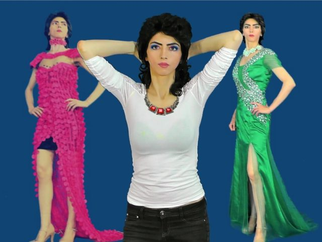 Nasim Aghdam fashion selfies (Facebook)
