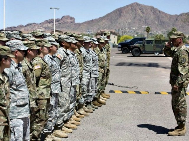 Thousands of USA  troops could be sent to Mexico border
