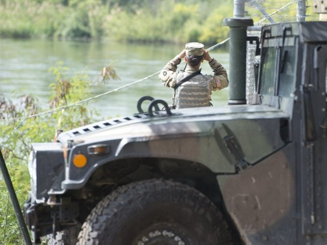 National Guard troops at border so far