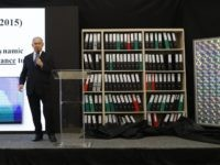 Netanyahu and Iran files (Jack Guez / AFP / Getty)