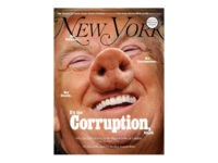 "New York magazine's latest cover photo depicts President Donald Trump as a pig and attacks the president as ""corrupt."""