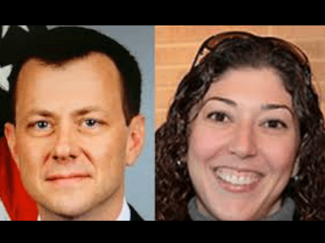 Peter Strzok and Lisa Page