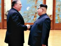 Photos of North Korea Meeting Between Pompeo and Kim Jong-un Posted