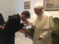 Pope meets father of Alfie Evans