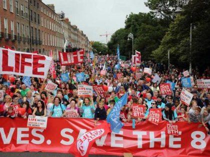 Irish Pro-life Rally
