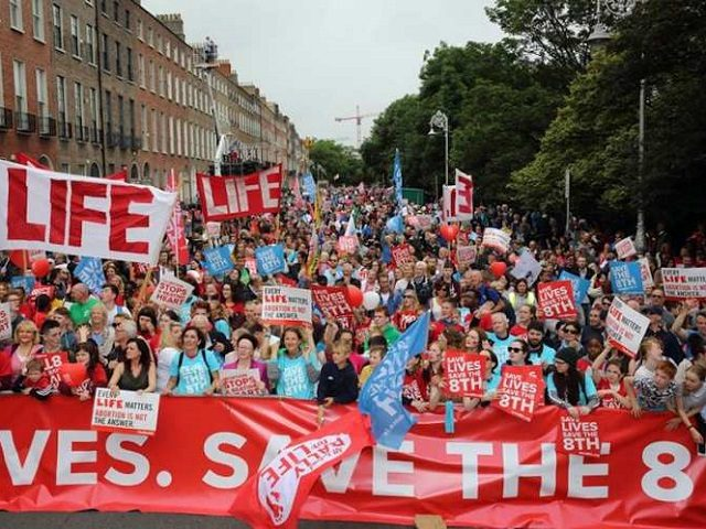 Irish Pro-life Rally