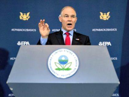 Pruitt EPA