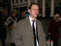 Robert Webb arrives at a Memorial Celebration For Geoffrey Perkins at Her Majesty's Theatre on February 06, 2009 in London, England. (Photo by Tim Whitby/Getty Images)