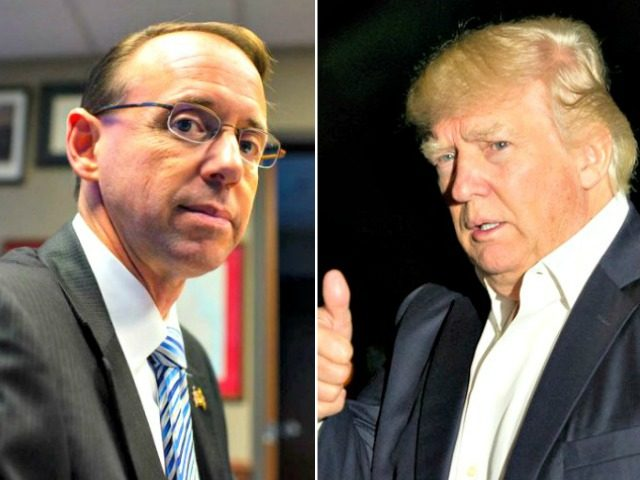 Rosenstein May Keep His Job, Unless His Trump Meeting Goes Awry