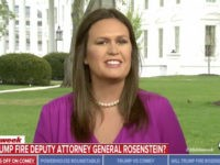WH's Sanders: Democrats' Handling of Kavanaugh Has Been 'Absolutely Appalling and Disgusting'