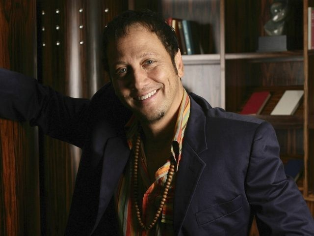 Actor Rob Schneider poses for a portrait session during his visit to Australia, at the Park Hyatt Hotel on November 10, 2008 in Melbourne, Australia. The actor is in Australia to promote his new film 'Big Stan' as a first time director. (Photo by Kristian Dowling/Getty Images)