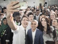 Justin Trudeau and Sadiq Khan