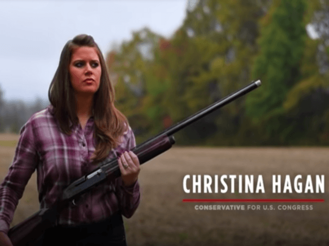 NRA-Endorsed Christina Hagan: 'Stop Sending Our Dollars Overseas,' Pay Armed Veterans to Protect Schools