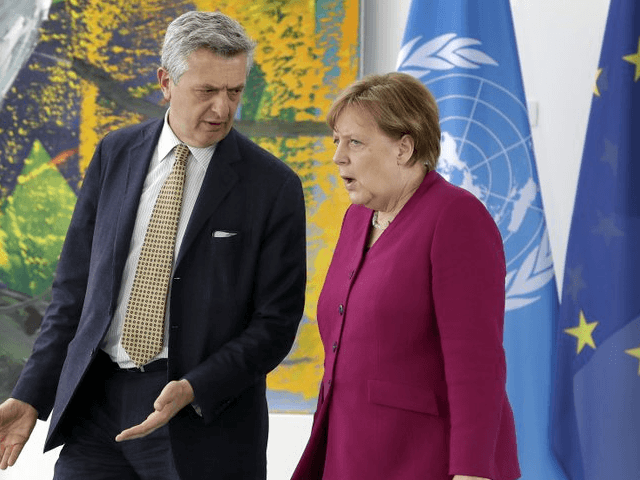Merkel and Pena Nieto praise EU-Mexico trade agreement