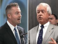 Travis Allen and John Cox (Associated Press)