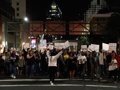 Stephon Clark protest (Justin Sullivan / Getty)