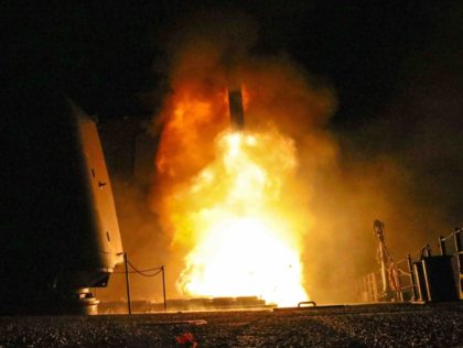 Syria attack (Matthew Daniels / U.S. Navy / Getty)