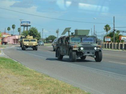 Texas National Guard in the Rio Grande Valley Border Patrol Sector - Photo: Bob Price/Breitbart Texas