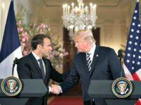 Trump, Macron