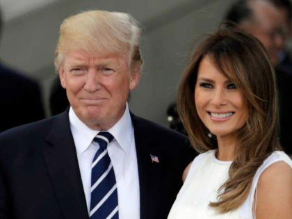 President Trump Praises Melania Trump as His 'Rock' in Birthday, Fundraising Email